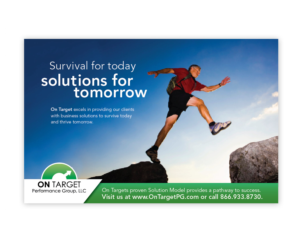 ON Target Direct mail and banner