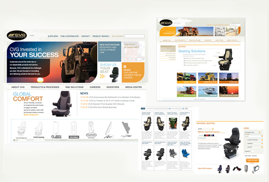 CVG Sharepoint Website Redesign