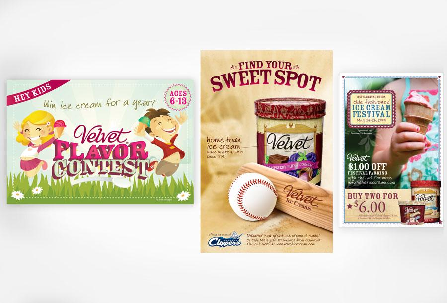 Velvet Direct Mail & Advertisements