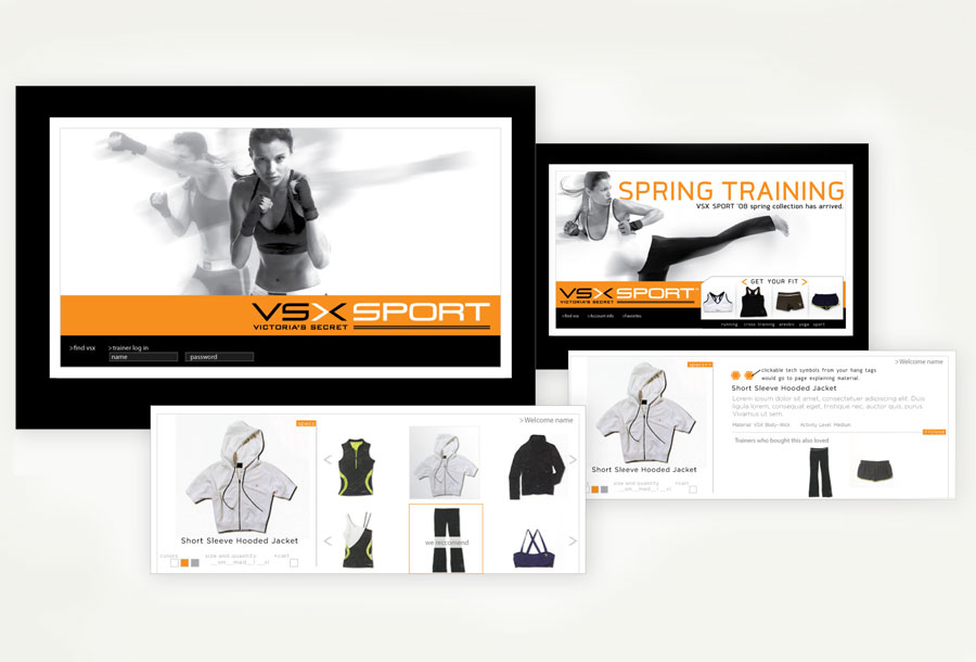 VSX website Concpet
