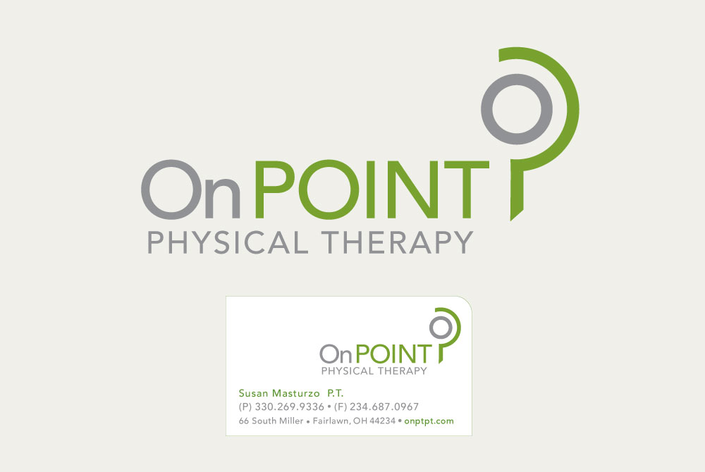 OnPoint Logo Design and Card