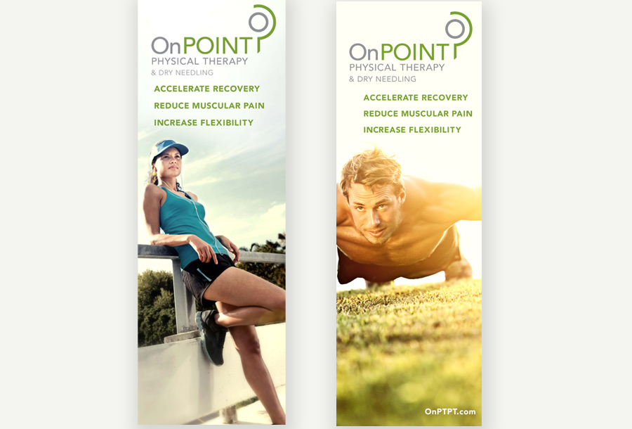 On Point Pop up banner